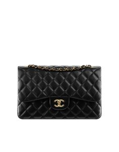 If I ever found oil in my back yard or something and struck it rich Beverly Hillbillies style, this would be my splurge.  I love it.  (But cannot envision a sane, real-world scenario in which I'd spend that much on a purse.)  Classic flap bag in quilted... - CHANEL