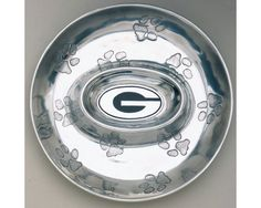 University of Georgia Chip and Dip by ThistlesHomeAccents on Etsy