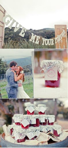 Holman Ranch Wedding by Engaged & Inspired | Style Me Pretty