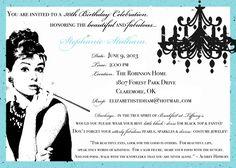 The invitation compliments of e!
