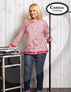 Vaqueros elásticos Carisal Fashion. Tallas disponibles 44 a 56. www.monanva.com