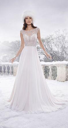 Designer Wedding Dresses by Sophia Tolli www.TiffanysBridals.com