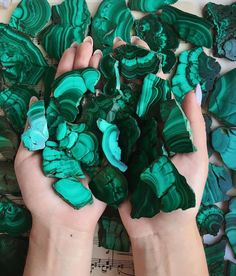 Malachite has always been such a fascinating stone to me! The intricate layers and swirls remind me of something you might see under a… Malachite Jewelry, Meditation Crystals, Boho Womens Clothing, Crystals And Gemstones, Shades Of Green, Swirls, Crystal Healing, Pretty, Beautiful