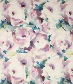 Voyage Decoration Rosa Fabric / Orchid | Just Fabrics