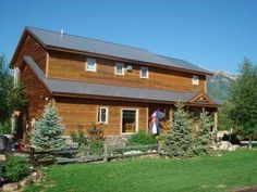 Great home with amazing views of Crested Butte, Colorado.