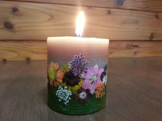 Botanical candle
