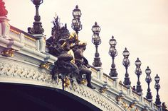 Pont Alexandre III- my heart beats fast every time I see it.