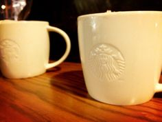 The for-here cup at Starbucks makes the whole experience that much richer.