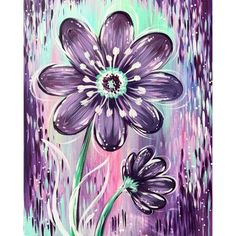 Diamond Painting - Full Round - Purple Flower – Everydayedeals Diamond Drawing, Diamond Art, 5d Diamond Painting, Diamond Shapes, Painting Tools, Painting Frames, Diy Painting, Painting Flowers, Home Flowers