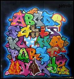 Begginer graffiti alphabet  ;)
