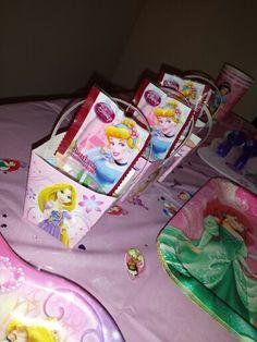 Disney Princess Party candy favors