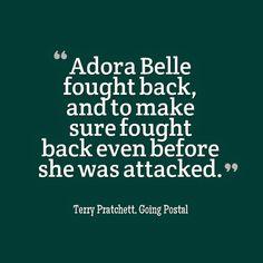 Adora Belle - Going Postal - Terry Pratchett