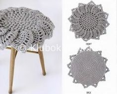 Подушка-цветок   Вязание крючком   Вязание спицами и крючком. Схемы вязания.
