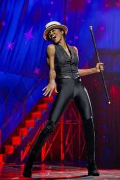 Patina Miller portrays Leading Player in the Broadway revival of Pippin. #Broadway #Theater