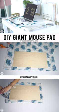 5 DIY Desk Decors for Your Home Office | Ann Le Style