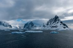 Crossing the Lemaire Channel in Antarctica   - Explore the World with Travel Nerd Nici, one Country at a Time. http://TravelNerdNici.com