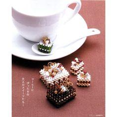 Swarovski Cakes Parade Beading Pattern PDF | CraftyLine e-pattern shop