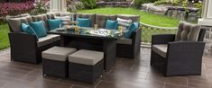 Choose from over 50 collections to find the perfect set to fit your backyard design, style, and layout. Choose from different colours and seating options. Outdoor Sectionals, Gazebo On Deck, Family Pool, Outdoor Furniture Sets, Outdoor Decor, Furniture Collection, Backyard Landscaping, Feng Shui, Decks
