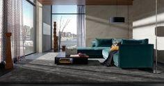 Tolle Farben, modern und trotzdem wohnlich - gesehen auf www.Trebes.net