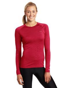 Icebreaker Womens Oasis Long Sleeve Crewe Top: -Wool -Crewe Neck -Versatile Layer to heat things up -Raglan Sleeves Long Sleeve Tops, Long Sleeve Shirts, Workout Gear For Women, Icebreaker, Fun Workouts, Oasis, Womens Fashion, Sweaters, How To Wear
