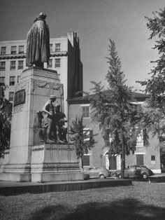 A Monument to Baron Friedrich Wilhelm Von Steuben, George Washington's German Aide and Drillmaster