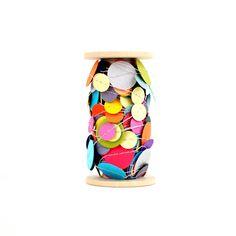 Rainbow Confetti Garland