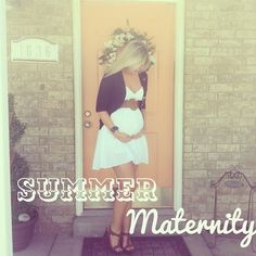 New blogspot! Link on profile :) #whatiwore #pregnancy #maternity #summer #ootd
