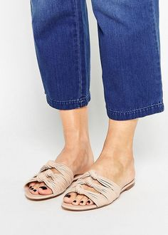 mango knotted sandals