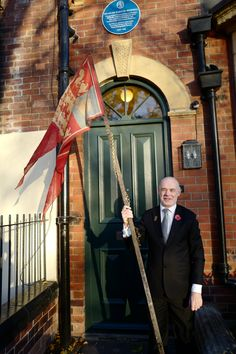 Duncan McCargo outside the House that Madge Howdill's Armistice Flag was found in. Photograph taken Sunday November Image copyright Duncan McCargo. Peace Meaning, Leeds City, City Museum, Banners, Scotland, November, Photograph, Flag, Sunday