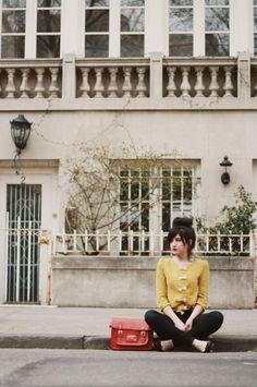 Cardigan Josefina mustard · PepaLoves