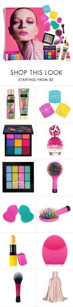 """""""Без названия #2792"""" by marina-smile-nazarenko ❤ liked on Polyvore featuring beauty, Victoria's Secret, Lime Crime, Huda Beauty, Marc Jacobs, NYX, Barry M, FOREO, Reem Acra and GlamGlow"""