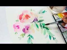 DIY Watercolor Painting - YouTube