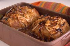 Lomo de cerdo al horno con jengibre y salsa soya #receta