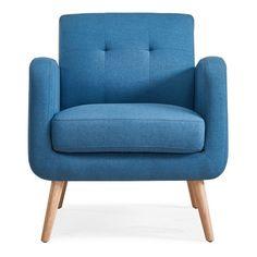 Kenneth Mid Century Modern Arm Chair - Handy Living : Target