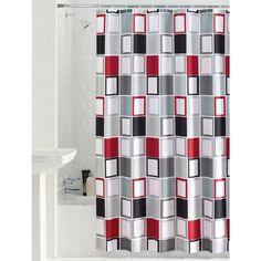 $17 Mainstays Aperture Fabric Shower Curtain - Walmart.com