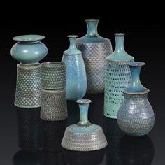 Stig Lindberg's Art Glass Ceramic, Ceramic Pottery, Pottery Art, Umea, Stig Lindberg, Tons Clairs, Bennington Pottery, Big Vases, Nordic Home
