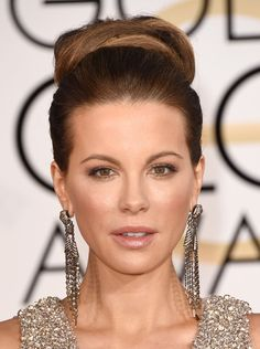 Kate Beckinsale Photos - Actress Kate Beckinsale attends the 72nd Annual Golden Globe Awards at The Beverly Hilton Hotel on January 11, 2015 in Beverly Hills, California. - Arrivals at the Golden Globe Awards — Part 2