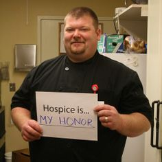 hospice is my honor #hospicemonth