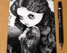 Blythe Isolde princesa celta 5 x 7 impresión por Friend2Blythe