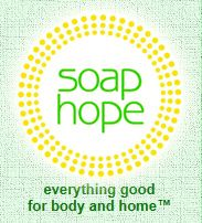 I love Soap Hope's organic make-up and their mission. Soap Hope invests 100% of its profits every year, for the full year, into anti-poverty non-profits. You can also buy anti-aging creams, soap, bath, & body products, cleaning products, baby products, and even tea, food, & pet supplies!