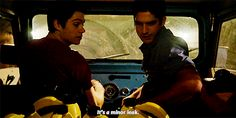 #TeenWolf - Stiles and Scott gif