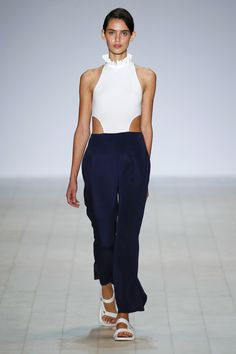 Just.. the trousers though. so great// Karla Spetic Australia Resort 2017 Fashion Show