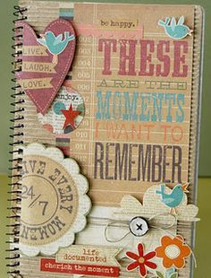 ideas for first page of travel scrapbook - Google Search