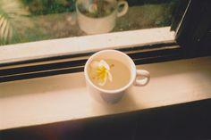 flower tea Flower Tea, Tea Time, Tableware, Food, Summer, Dinnerware, Summer Time, Tablewares, Essen