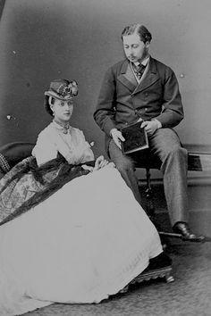 Alexandra and Bertie : 1865