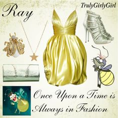 Ray outfit - by trulygirlygirl Disney Dress Up, Disney Themed Outfits, Character Inspired Outfits, Disney Bound Outfits, Movie Outfits, Disney Clothes, Disney Princess Fashion, Disney Inspired Fashion, Disney Style