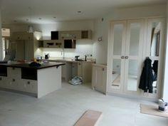 Mirrored kitchen Pantry