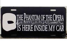 "21 Awesome Gifts For ""The Phantom Of The Opera"" Fan In Your Life I want it all!!!"