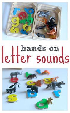 letter sounds activi