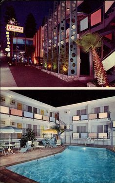 Century Hotel Mid House Decor California Vintage Hollywood Hotels Motel Googie